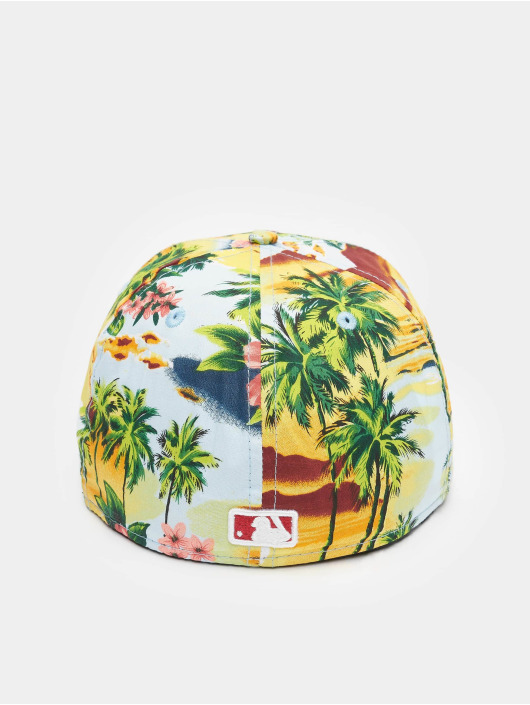 New Era Casquette Fitted Allover Island LA Dodgers multicolore