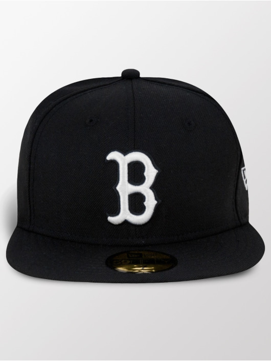 New Pitching Boston 44297 Red Sox Era Fitted Casquette Mlb Noir Basic H2WeIYE9D