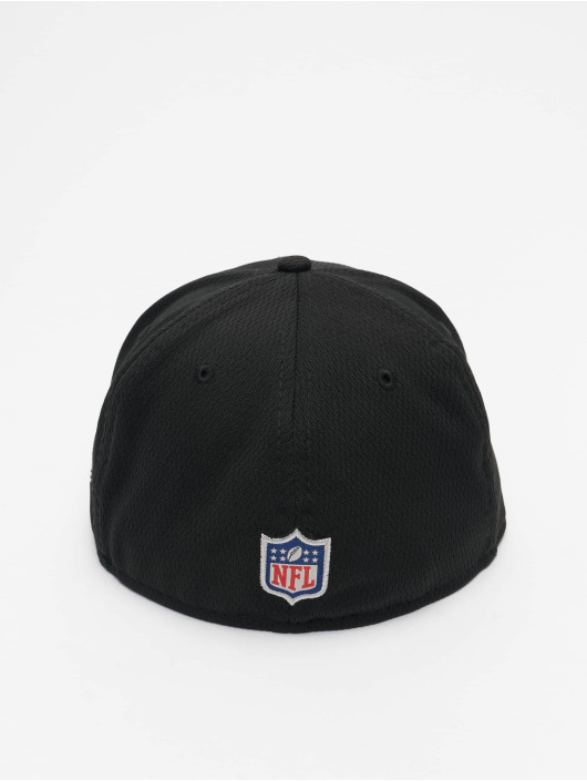 New Era Casquette Fitted NFL Las Vegas Raiders Sideline Road 59Fifty noir