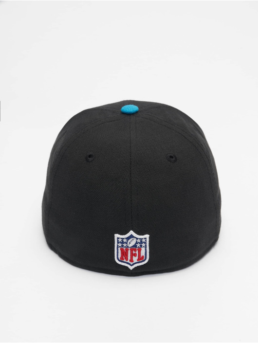 New Era Casquette Fitted NFL On Field Carolina Panthers noir