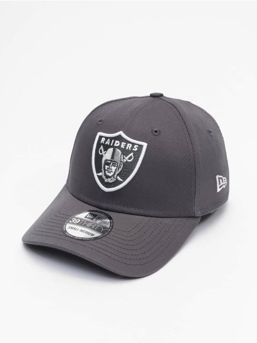 New Era Casquette Flex Fitted NFL Las Vegas Raiders Gray Pop 39Thirty gris