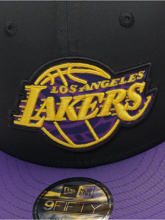 New Era Casquette Flex Fitted Team 9Fifty LA Lakers noir