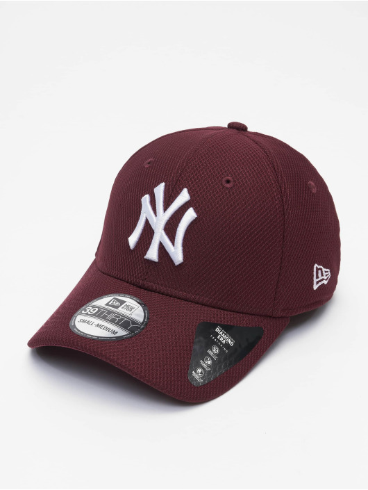 New Era Casquette Flex Fitted MLB NY Yankees Diamond Era 39thirty rouge