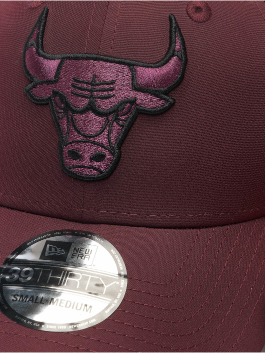 New Era Casquette Flex Fitted NBA Chicago Bulls Mesh Back 39Thirty rouge