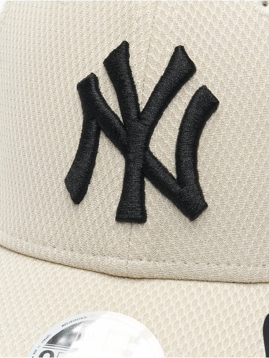 New Era Casquette Snapback & Strapback MLB New York Yankees Diamond Era 9Forty beige