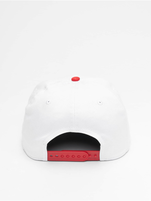 New Era Casquette Snapback & Strapback NBA Chicago Bulls Retro Pack Flat Visor 9Fifty blanc