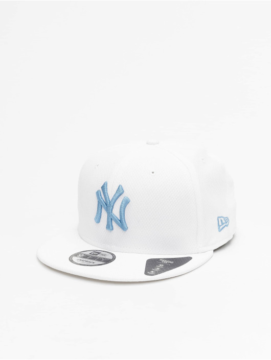 New Era Casquette Snapback & Strapback MLB New York Yankees Diamond Era 9fifty blanc