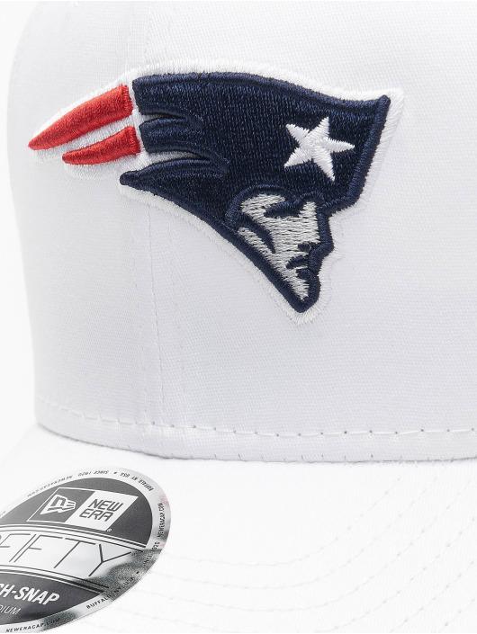 New Era Casquette Snapback & Strapback NFL New England Patriots White Base blanc