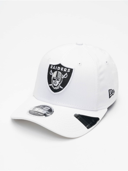 New Era Casquette Snapback & Strapback White Base 9Fifty Oakland Raiders blanc