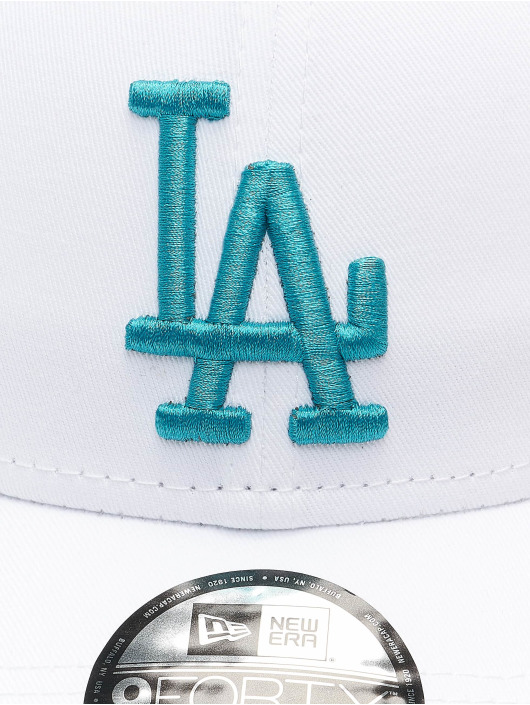 New Era Casquette Snapback & Strapback MLB Los Angeles Dodgers League Essential 9Forty blanc