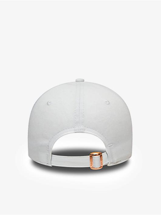 New Era Casquette Snapback & Strapback MLB New York Yankees Metallic Logo 9Forty blanc