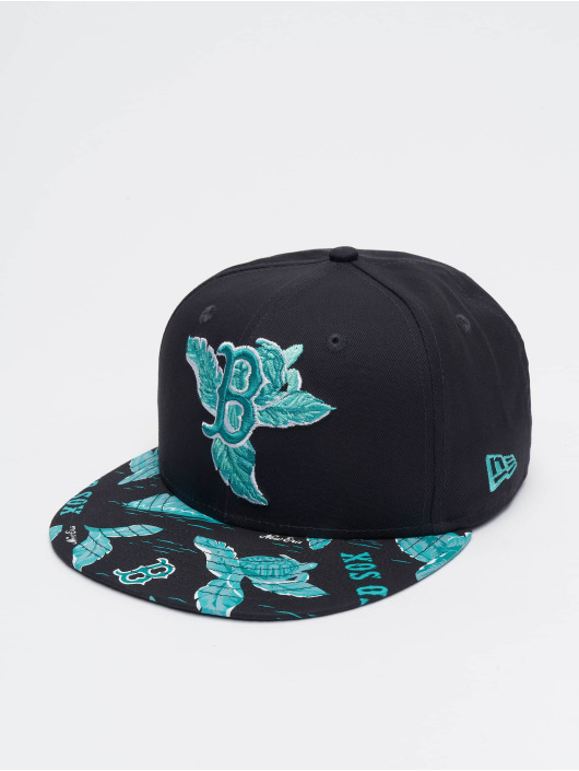New Era Casquette Snapback & Strapback MLB Boston Red Sox Desert Island 9fifty bleu