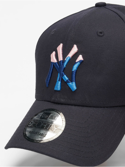 New Era Casquette Snapback & Strapback 9Forty Camo Infill NY Yankees bleu