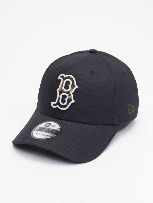 New Era Casquette Snapback & Strapback Mlb Properties Boston Red Sox Camo Infill 9forty bleu
