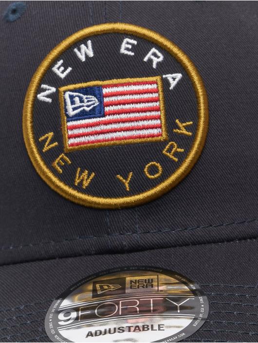 New Era Casquette Snapback & Strapback US Flag Pack 9Forty bleu