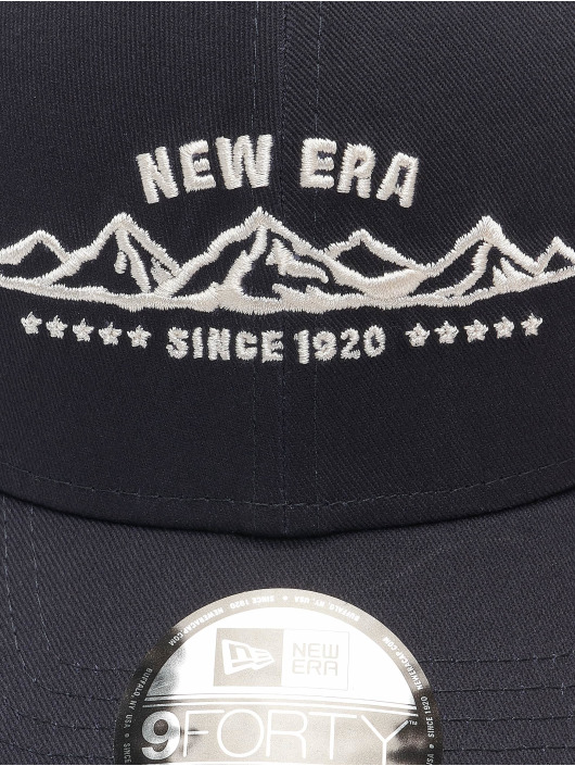 New Era Casquette Snapback & Strapback NE Camp 9Forty bleu