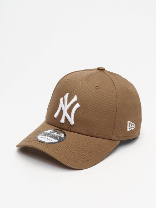 New Era Casquette Snapback & Strapback MLB NY Yankees League Essential 9Forty brun