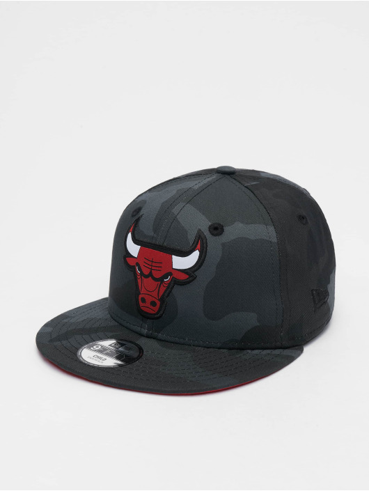 New Era Casquette Snapback & Strapback NBA Character Chicago Bulls 9Fifty camouflage
