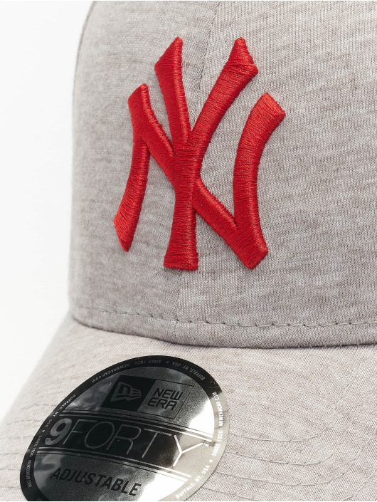 New Era Casquette Snapback & Strapback MLB NY Yankees Jersey Essential 9Forty gris