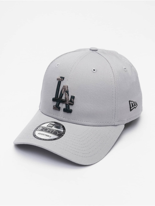 New Era Casquette Snapback & Strapback MLB Los Angeles Dodgers Infill 9Forty gris