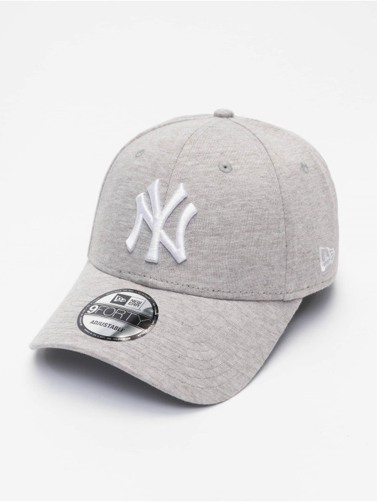 New Era Casquette Snapback & Strapback MLB New York Yankees Jersey 9Forty gris