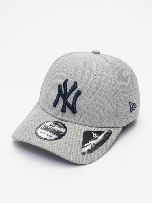 New Era Casquette Snapback & Strapback MLB New York Yankees ALT Team Diamond Era gris