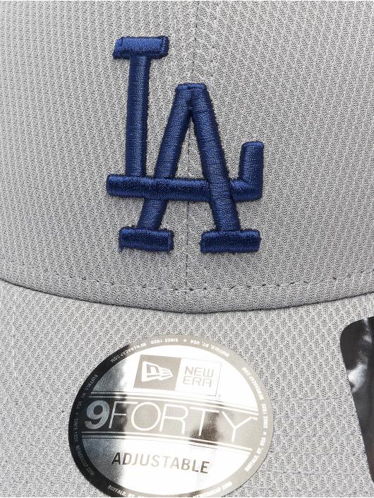 New Era Casquette Snapback & Strapback MLB Los Angeles Dodgers ALT Team Diamond Era gris