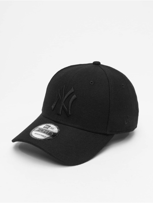 New Era Casquette Snapback & Strapback MLB NY Yankees Melton 9Forty noir