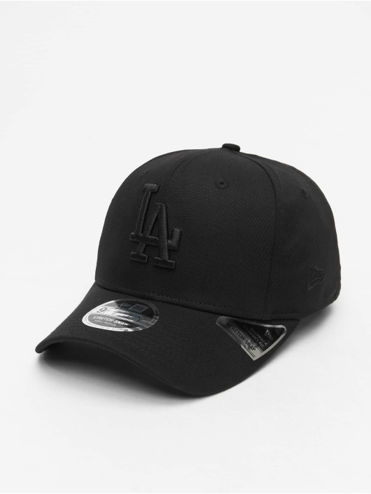 New Era Casquette Snapback & Strapback MLB LA Dodgers Tonal Black 9Fifty noir