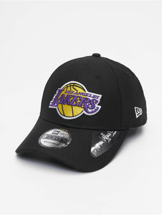 New Era Casquette Snapback & Strapback Nba Properties Los Angeles Lakers Diamond Era 9forty noir