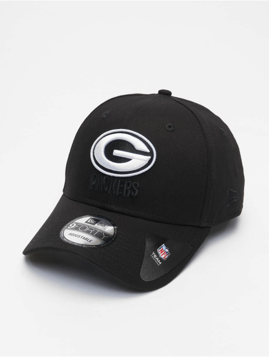 New Era Casquette Snapback & Strapback Nfl Properties Green Bay Packers Black Base 9forty noir