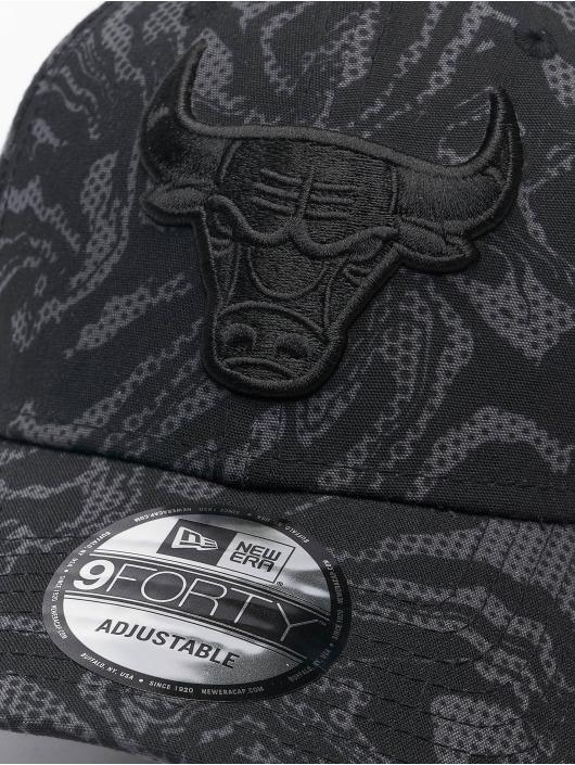 New Era Casquette Snapback & Strapback NBA Chicago Bulls NE Seasonal Camo 9Forty noir