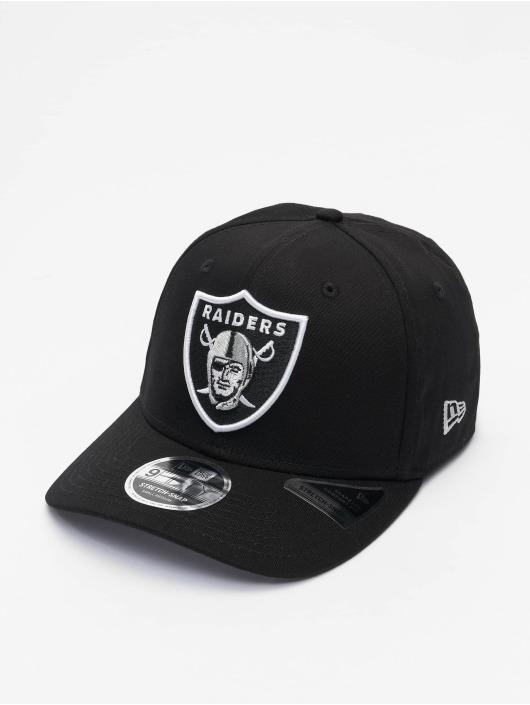 New Era Casquette Snapback & Strapback NFL Las Vegas Raiders Team Colour 9Fifty Stretch Snap noir