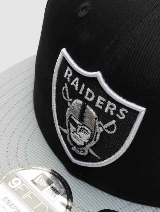 New Era Casquette Snapback & Strapback Super Oakland Raiders noir