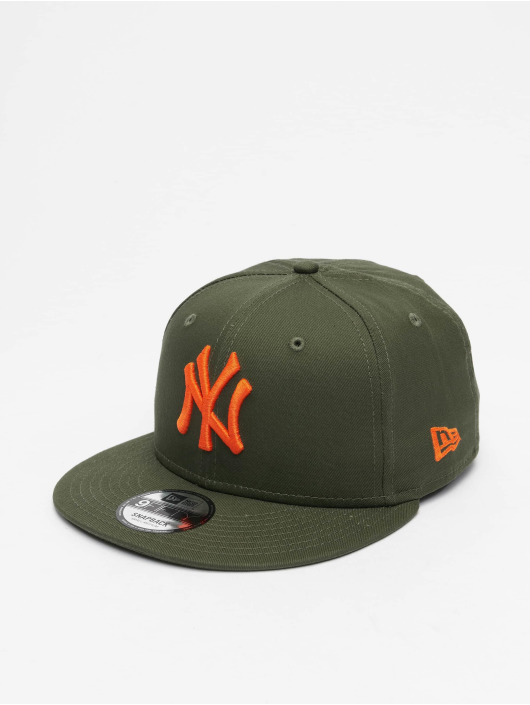 New Era Casquette Snapback & Strapback MLB NY Yankees League Essential 9Fifty olive