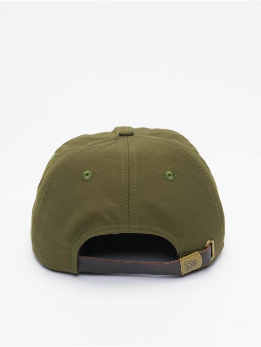New Era Casquette Snapback & Strapback Green Ripstop Retro Crown olive
