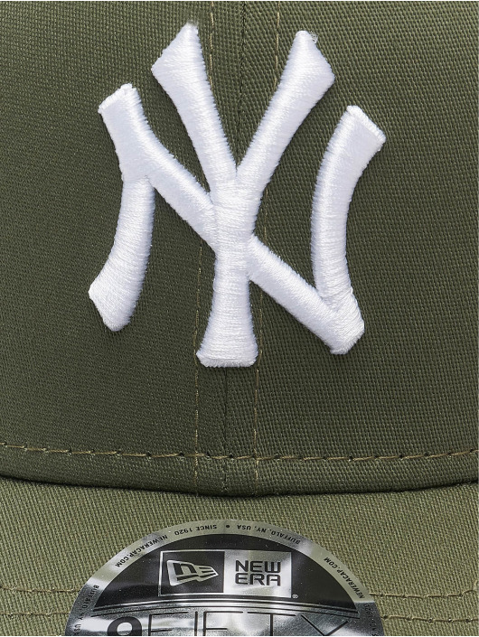 New Era Casquette Snapback & Strapback MLB New York Yankees League Essential 9Fifty olive