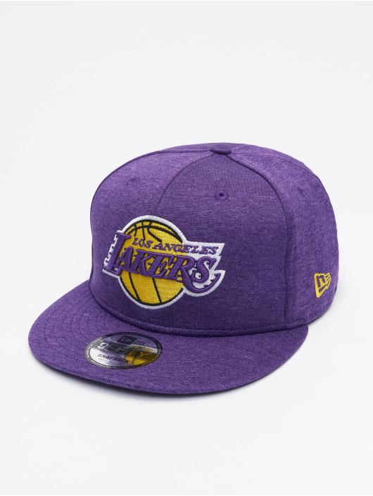 New Era Casquette Snapback & Strapback NBA La Lakers Shadow Tech pourpre