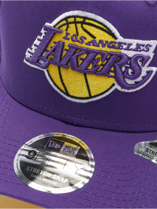 New Era Casquette Snapback & Strapback NBA Los Angeles Lakers Team Colour 9Fifty Stretch pourpre