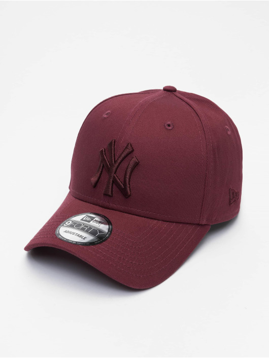 New Era Casquette Snapback & Strapback MLB New York Yankees League Essential 9Forty rouge