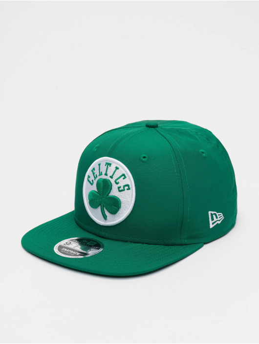 New Era Casquette Snapback & Strapback NBA Boston Celtics Featherweight 9fifty Original Fit vert