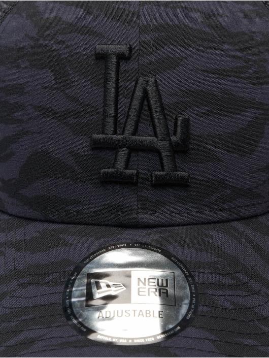 New Era Casquette Trucker mesh MLB Los Angeles Dodgers Tiger Print 9Forty bleu