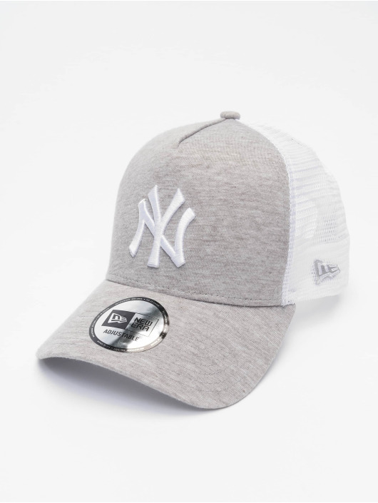 New Era Casquette Trucker mesh MLB NY Yankees Jersey gris