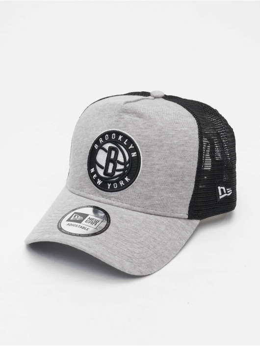 New Era Casquette Trucker mesh NBA Brooklyn Nets Essential gris