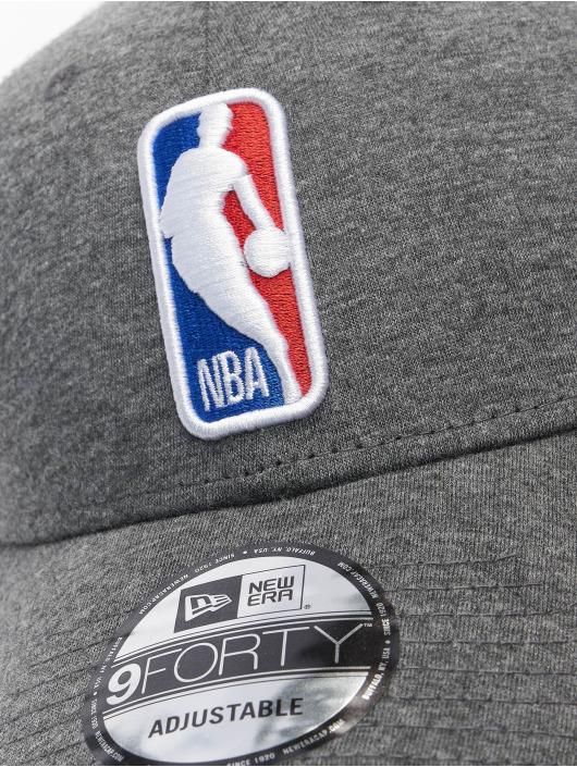 New Era Casquette Trucker mesh NBA Logo Home Field 9Forty gris
