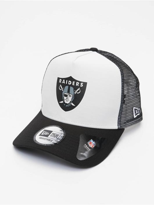 New Era Casquette Trucker mesh NFL Las Vegas Raiders Team Colour Block 940 AF gris
