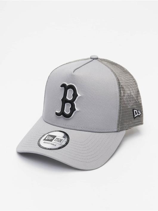New Era Casquette Trucker mesh MLB Boston Red Sox League Essential gris