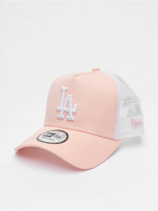 New Era Casquette Trucker mesh Los Angeles Dodgers League Essential 9forty A-Frame magenta