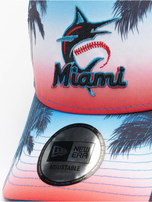 New Era Casquette Trucker mesh MLB Miami Marlins Summer City 9Forty noir