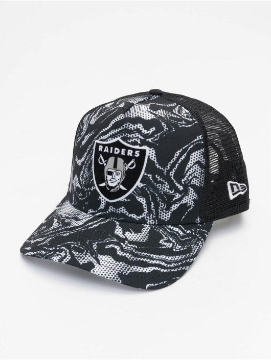 New Era Casquette Trucker mesh NFL Las Vegas Raiders Seasonal Camo noir